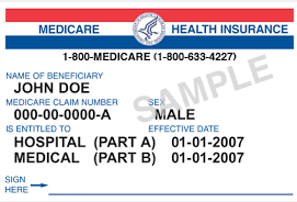Example of Medicare Health Insurance